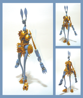 Bionicle MOC - Yevrah by Alex-Darkrai