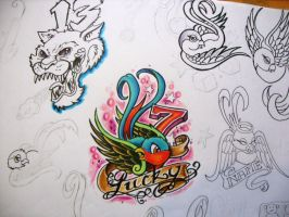 Lucky number 7 by chrisxart