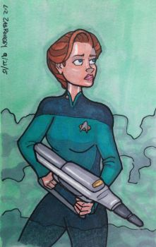 Ensign Janeway by LizzyChrome