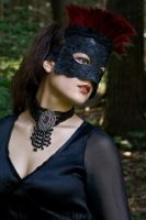 Black Lace Look by eyefeather-stock