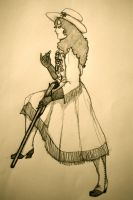 Annie Oakley by SerpentineDoves