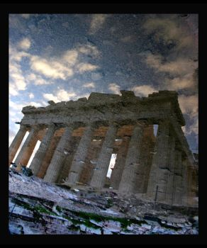 Acropolis Reflection by scottevil