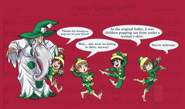 The Nutcracker-Mother Ginger by SapphireGamgee