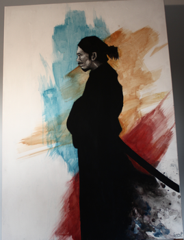 One more time into the fray- Miyamoto Musashi by ErnstWilbert
