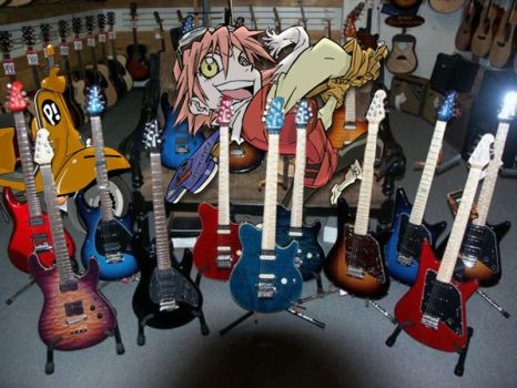 FLCL GuitarStore Chaos Eminent by obsessed-with-manga