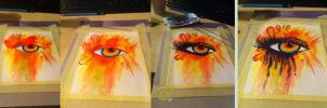 making of an Aquerelle eye by RealPsygnosis