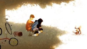 In the shade by PascalCampion