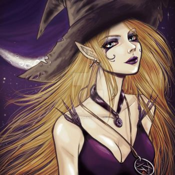 Witch colors by VeraArt