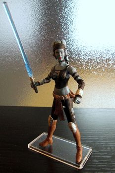 Aayla Secura Bounty Hunter Disguise Custom Figure by jvcustoms