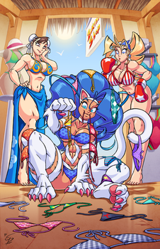 Felicia at Bikini Shop by eltonpot