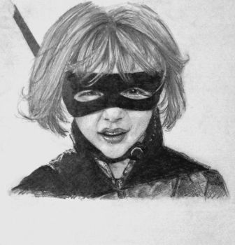 I'm Hit Girl by paperthin-z