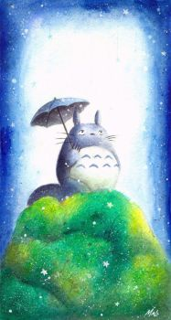 My Neighbor Totoro by frecklefaced29