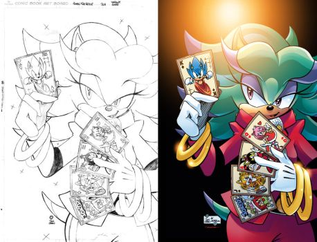 Sonic the Hedgehog #268 Variant Cover by jongraywb
