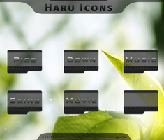 Haru Icons by burnsplayguitar