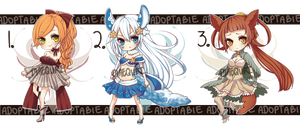 [AUCTION CLOSED] Adoptable Batch Part 1 by maequri
