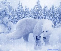 Winter Friends by supersnappz16