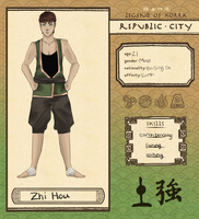 Republic City App: Zhi Hou by swooniemoonie