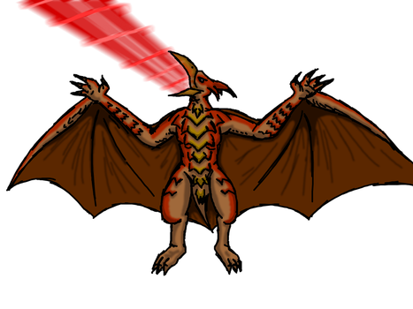 Terror of the Sky, Rodan by Kurt-dstryr