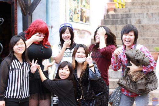 Japan is adorable. by underbust