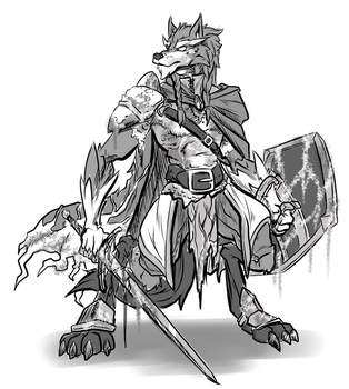 DnD Character Sketch by ACommonMisconception