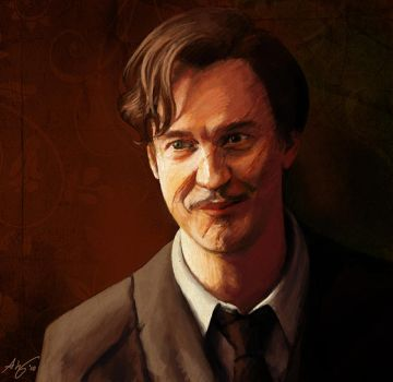 Remus Lupin by Lyvyan
