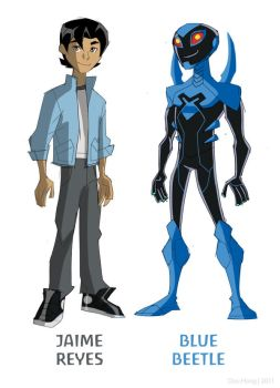 Blue Beetle Animated with Jaime Reyes by dou-hong