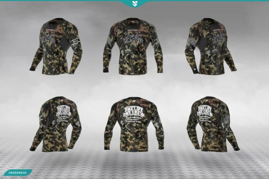 Own MMA  FITNESS CLOTHES. START A ATHLETIC LI E by OLOC-CLOTHING
