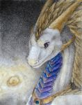 Gift: Simply glowing portrait by Samantha-dragon