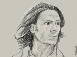 SPN: Sam Winchester's eyes by hydraa