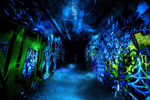 tunnel vision by chellowizza