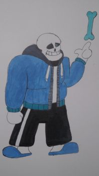 sans the skeleton by WittingSpy