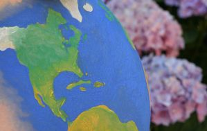Earth - Close-up by HelgaVelroyen