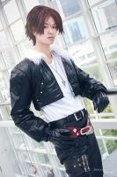 Final Fantasy VIII: Squall Leonheart by Justin-92