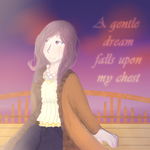 A gentle dream falls upon my chest by FeralRAD
