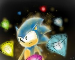 About to go 'Super Sonic...' by Beccawolf16