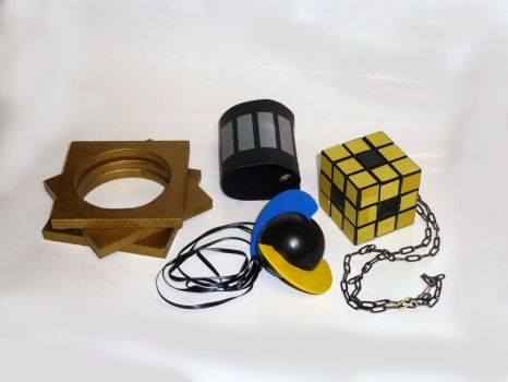 N Pokemon Cosplay accessories2 by sugee7