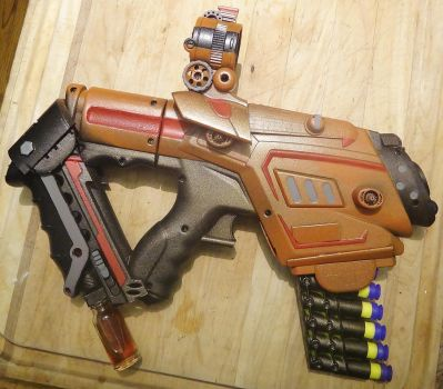 Borderlands/Halloween Pistol- Clean Paint by KingMakerCustoms