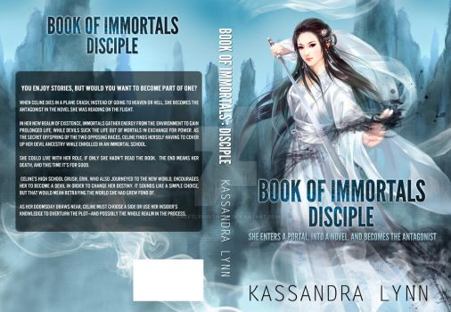 Book Of Immortals: Disciple Book Cover 1.0 by SweetlySouthern