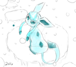 Glaceons World Ice Path by xKirameku-Lunaix