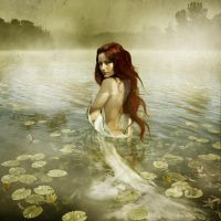 Lady of the lake by oloferla
