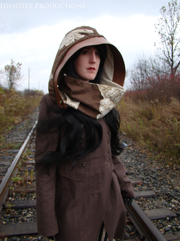 Clock Keeper Hood and Cowl 2 by Fennec777