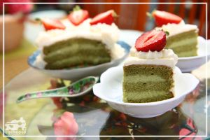 Green Tea Mousse Cake 2 by racheese