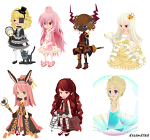 *FREE* Adoptables (Batch 1) CLOSED! by desandted