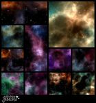 Space and Stars Pack 1 VS for COMMERCIAL use by AStoKo