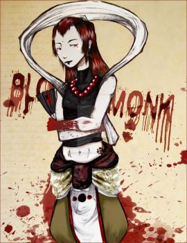 BlOody MOnk by LuckyXClover