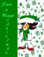 Shadow wishes a happy X-mas by sonicgogirl