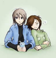 Errer: Cle and his girl by StarvingArtistKei