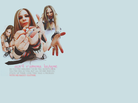 collage with avril lavigne by vethART