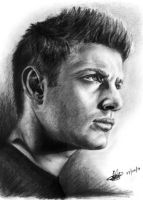Jensen Ackles sketch by rayjaurigue