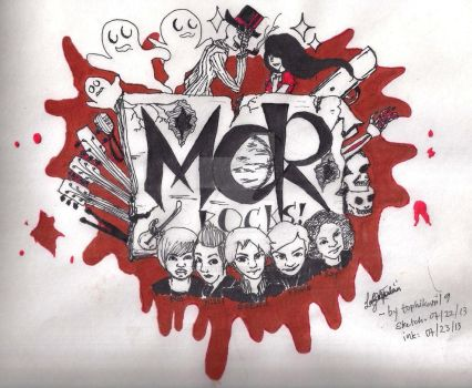 My Chemical Romance by tophikari19
